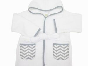 100% Organic Cotton Terry Baby Bathrobe
