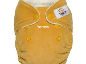 AIO Newborn Cloth Diaper - Buttah Velour