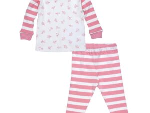 Baby Long Johns - Little People Pink