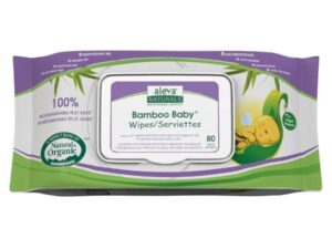 Bamboo Baby Wipes, 80 Count