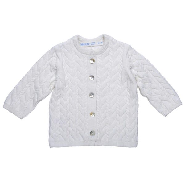 Cardigan Sweater- Off White
