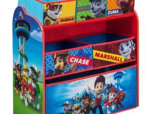 Children PAW Patrol Multi-Bin Toy Organizer