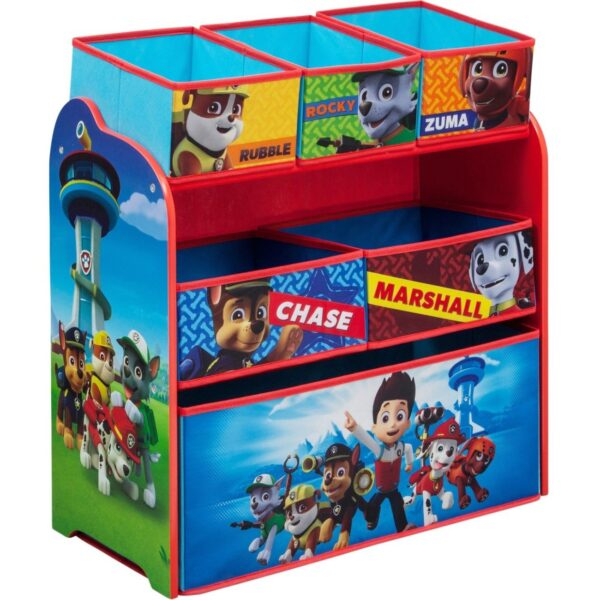 Children PAW Patrol Multi-Bin Toy Organizer