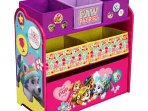Children PAW Patrol, Skye & Everest Multi-Bin Toy Organizer