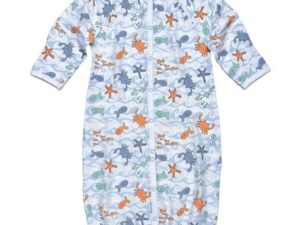 Convertible Romper- Sea Print