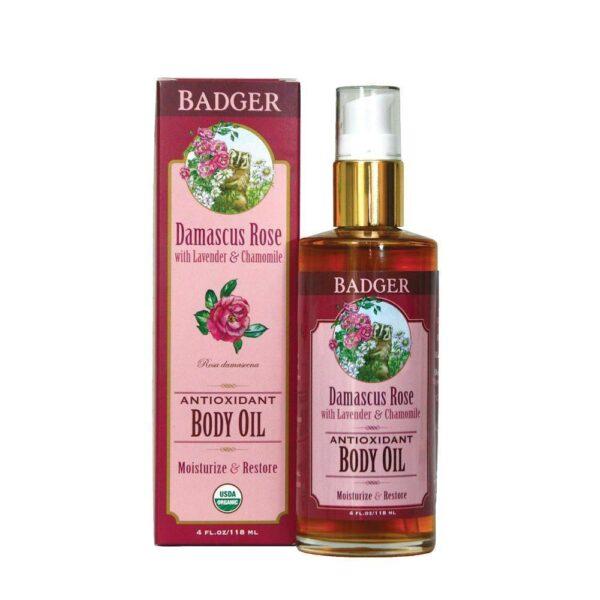 Damascus Rose Rose Body Oil