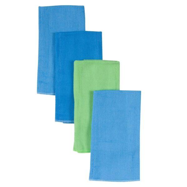 Diaper Burp Cloths, 4pk