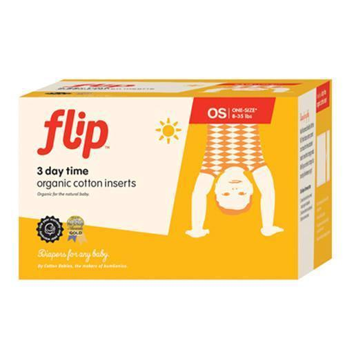 Flip Organic Day Time Insert - 3pk