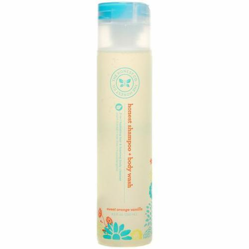 Honest Shampoo and Body Wash- Sweet Orange Vanilla