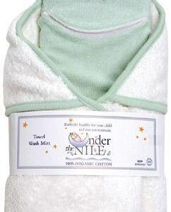 Hooded Towel & Washcloth Set