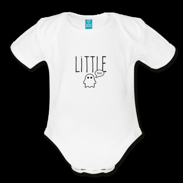 Little Boo Organic Short Sleeve Baby Bodysuit