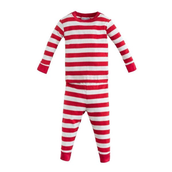 Long Johns - Red Rugby Stripe