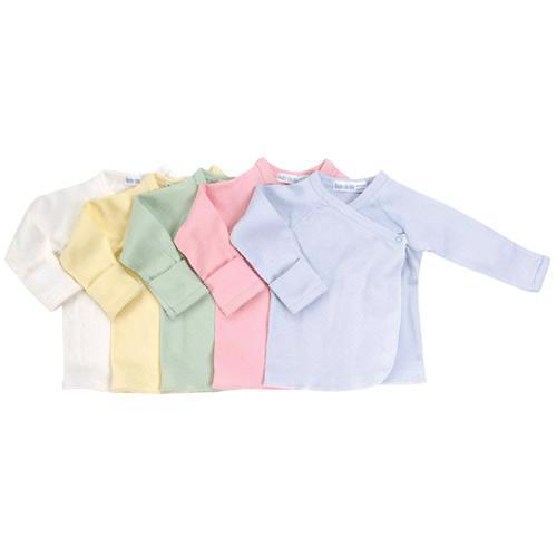 Long Sleeve Side Snap Undershirt - Solid