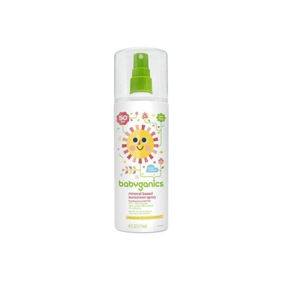 Mineral-Based Sunscreen Spray 50+ SPF