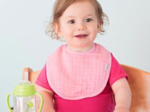 Muslin Bibs made from Organic Cotton (5pk)
