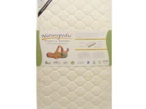 Naturepedic Quilted Organic Deluxe Crib Mattress (MC50)