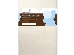 No-Compromise Lightweight Organic Cotton Classic Crib Mattress
