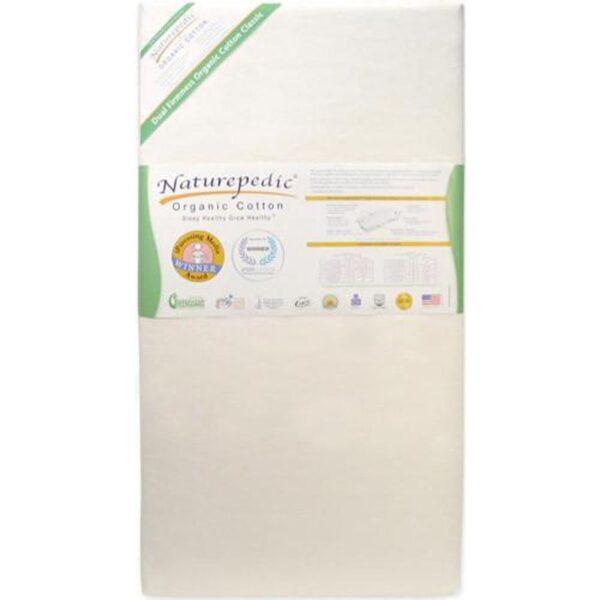 No-Compromise Organic Classic 150 Seamless 2-Stage Crib Mattress