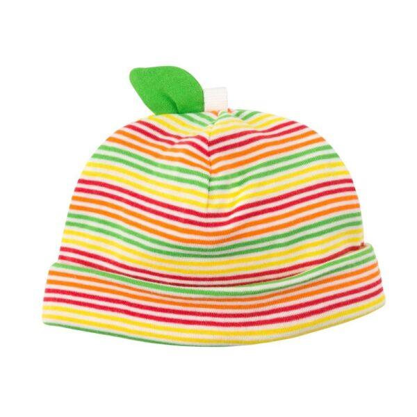 Organic Cotton Apple Baby Beanie Hat