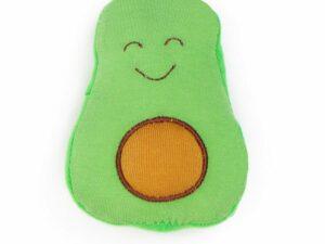 Organic Cotton Baby Stuffed Avocado Fruit Toy - 5