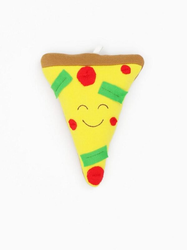 Organic Cotton Baby Stuffed Pizza Plush Toy - 5.5