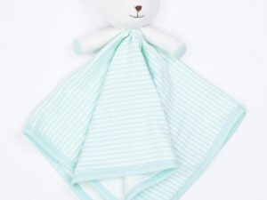 Organic Cotton Bear Blankie Toy