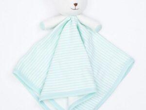 Organic Cotton Bear Blankie Toy