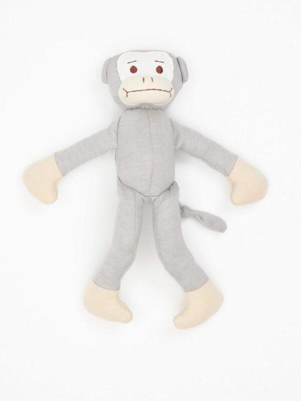 Organic Cotton Big Monkey Toy - 11 tall