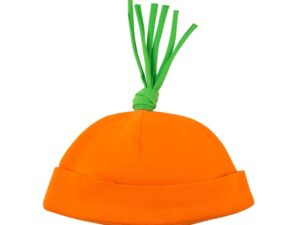 Organic Cotton Carrot Baby Beanie Hat