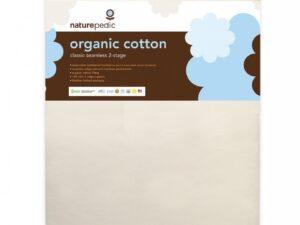 Organic Cotton Classic 150 Seamless 2-Stage Crib Mattress