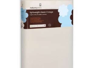 Organic Cotton Lightweight Classic 2-Stage Crib Mattress