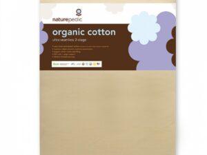 Organic Cotton Ultra 252 Seamless 2-Stage Crib Mattress