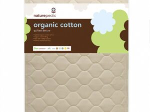 Organic Quilted Cotton Deluxe 252 Crib Mattress