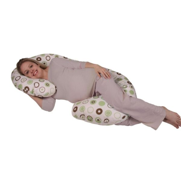 Organic Smart Snoogle Chic Total Body Pregnancy Pillow