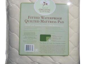 Organic Waterproof Mattress Pad - Crib