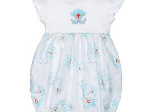 Romper w/ Embroidery - Princess Petal Poplin