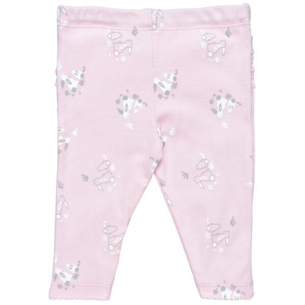 Ruffle Back Pants- Bunny Print