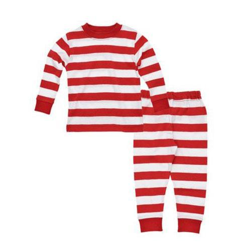 Rugby Baby Long Johns - Rugby Red