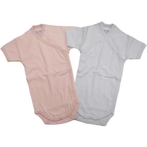 Short Sleeve Side Snap Babybody - BabyEarth Exclusive