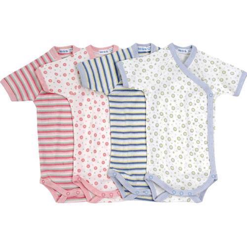 Short Sleeve Side Snap Babybody - Pattern