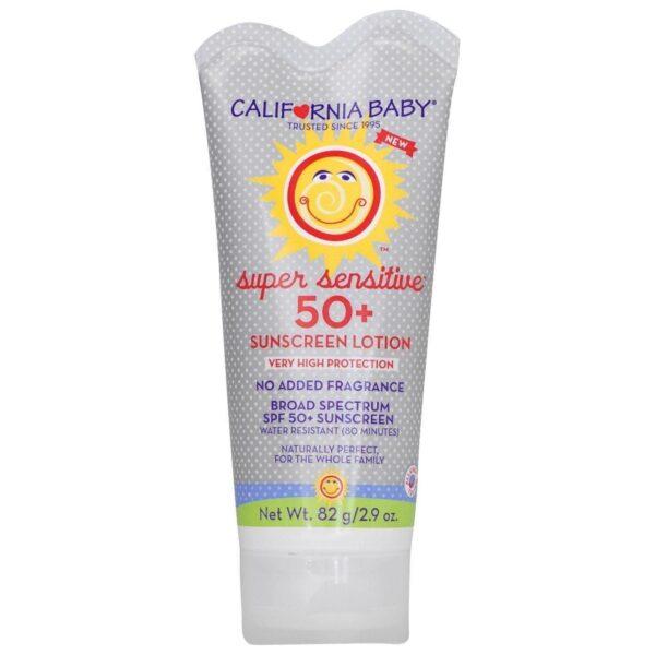 Super Sensitive, No Fragrance SPF 50 Lotion - 2.9 oz