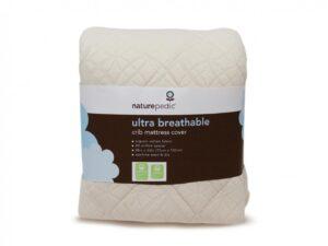 Ultra-Breathable Crib Mattress Pad