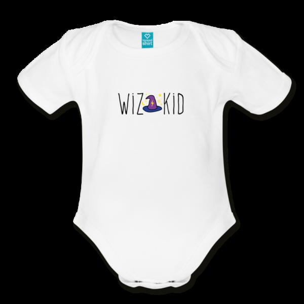 Wiz Kid Organic Short Sleeve Baby Bodysuit