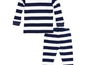 Baby Long Johns - Rugby Navy