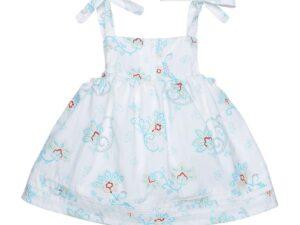 Bubble Dress with Pintucks