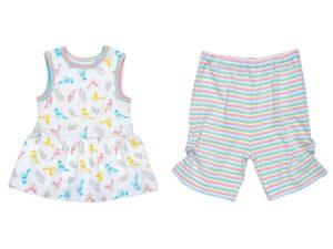 Dress w/ Capri - Baby Birds