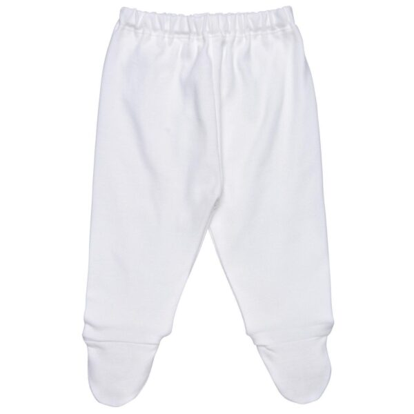 Footed Pant - light blue