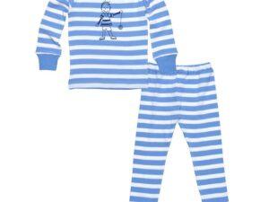 Kids Long Johns - Little People Blue