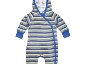 Lined Hooded Romper Scrappy Dog