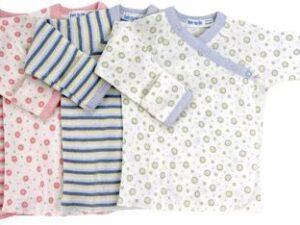 Long Sleeve Pattern Side Snap T-Shirt